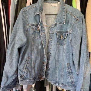 Sonoma light worn denim jacket